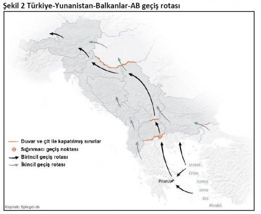 turkiye yunanistan balkanlar ab gecis rotasi.520px